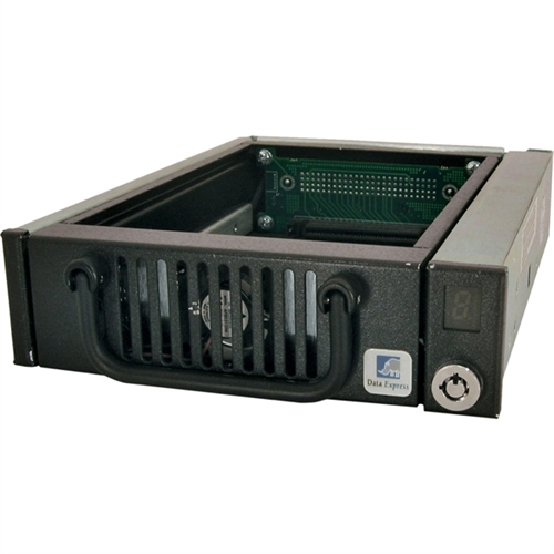 "CRU Data Express DE100 Drive Enclosure Internal - 1 x Total Bay - 1 x 3.5"" Bay - Ultra ATA/33 (ATA-4)"