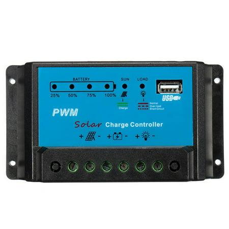 12V 10A regulatorchargecontroller PWM Solar Panel Charge Controller 12V Auto Battery Regulator