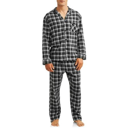 Hanes Men's Flannel Pajama Set - Hanes Flannel Pajamas