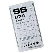 Ultimate Pocket Eye Chart Rosenbaum/Snellen