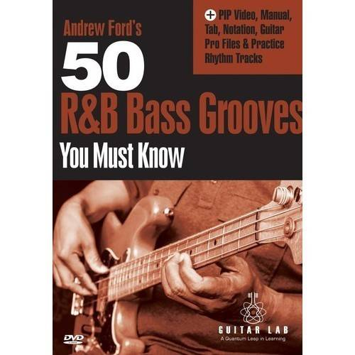 50 R&B Bass Grooves You Must Know DVD