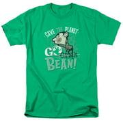 Mr Bean Go Bean Mens Short Sleeve Shirt