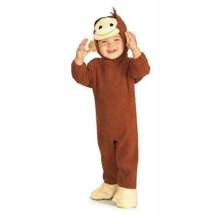 Costumes For All Occasions Ru885214I Curious George Infant](Curious George Costume Infant)