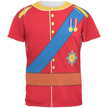 Prince Charming William Costume All Over Adult T-Shirt - Prince William Halloween Costume