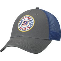 Chase Elliott Adjustable Trucker Hat - Gray - OSFA