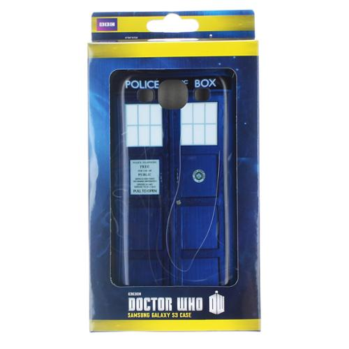 Doctor Who Samsung Galaxy S3 Hard Snap Case I Am TARDIS