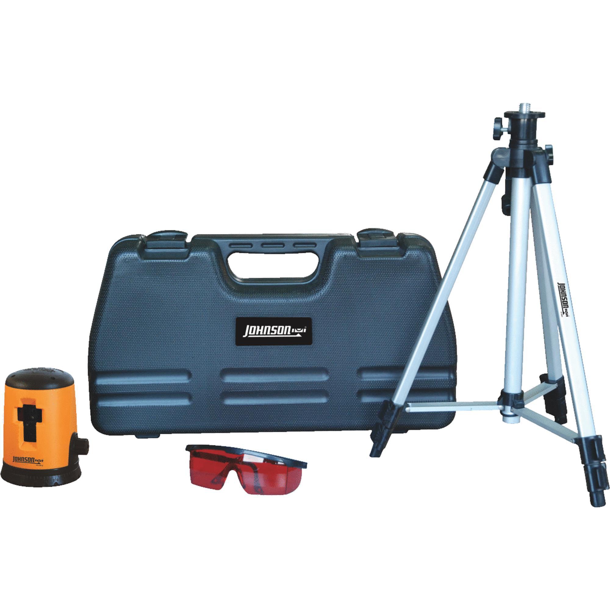 Johnson Level Cross-Line Laser Level by Johnson Level & Tool