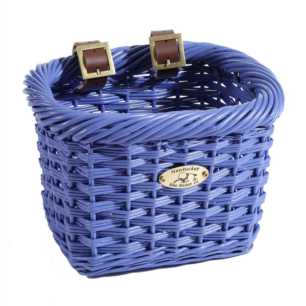 Gull Rectangular Child's Bicycle Basket in Purple