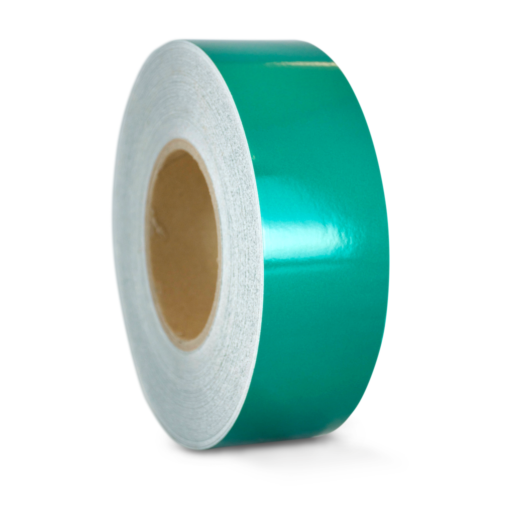 T.R.U. REF-7 Green Engineering Grade Reflective Tape: 1/2 in. wide x 30 ft. length