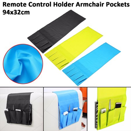 Foldable Remote Control Holder Bag Sofa Armrest Screen ...
