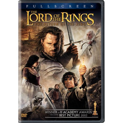 New Line Lord Of The Rings-return Of The King [dvd/p&s/2 Disc]-nla