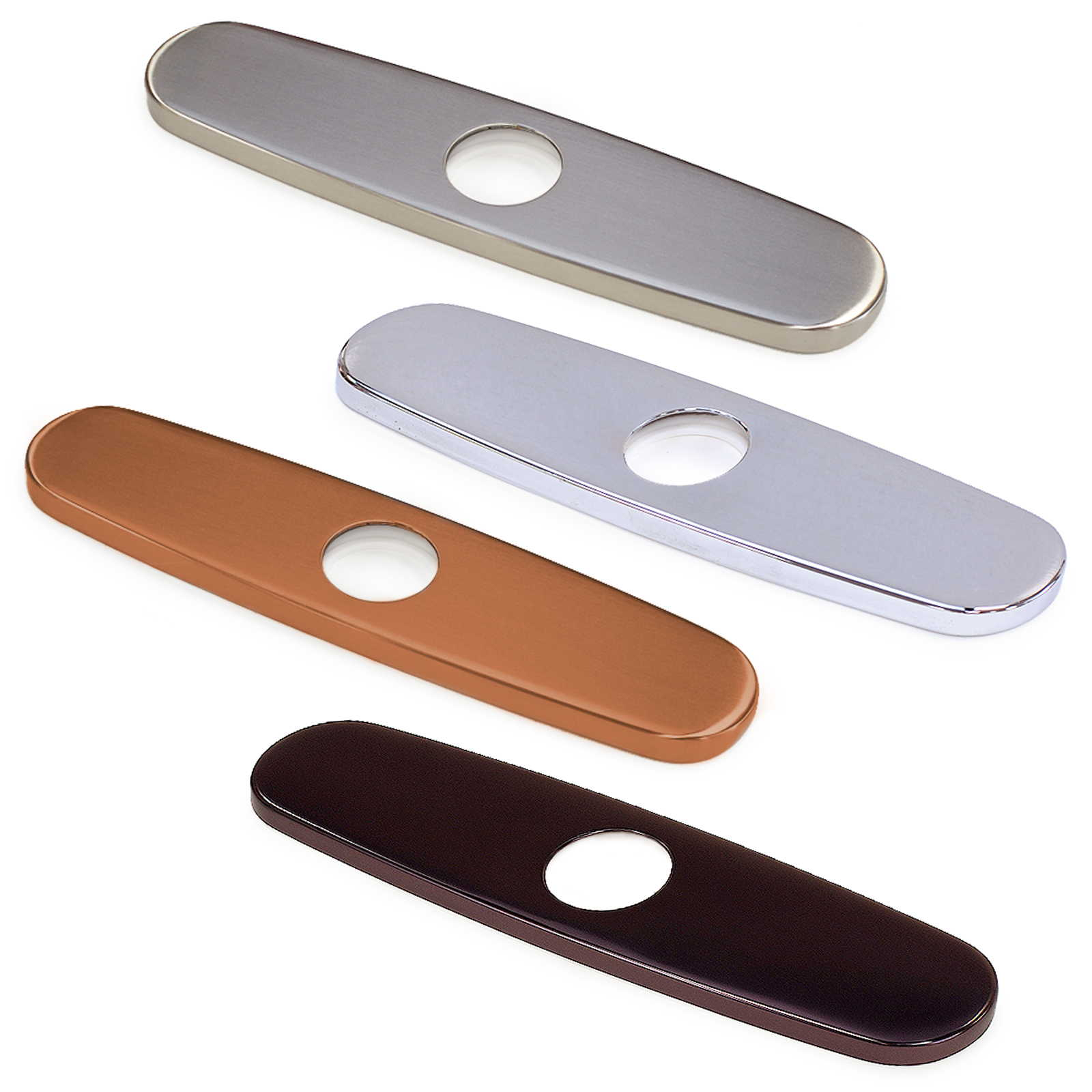 FREUER Faucets Kitchen Sink Hole Cover Plate - Multiple Finishes Available