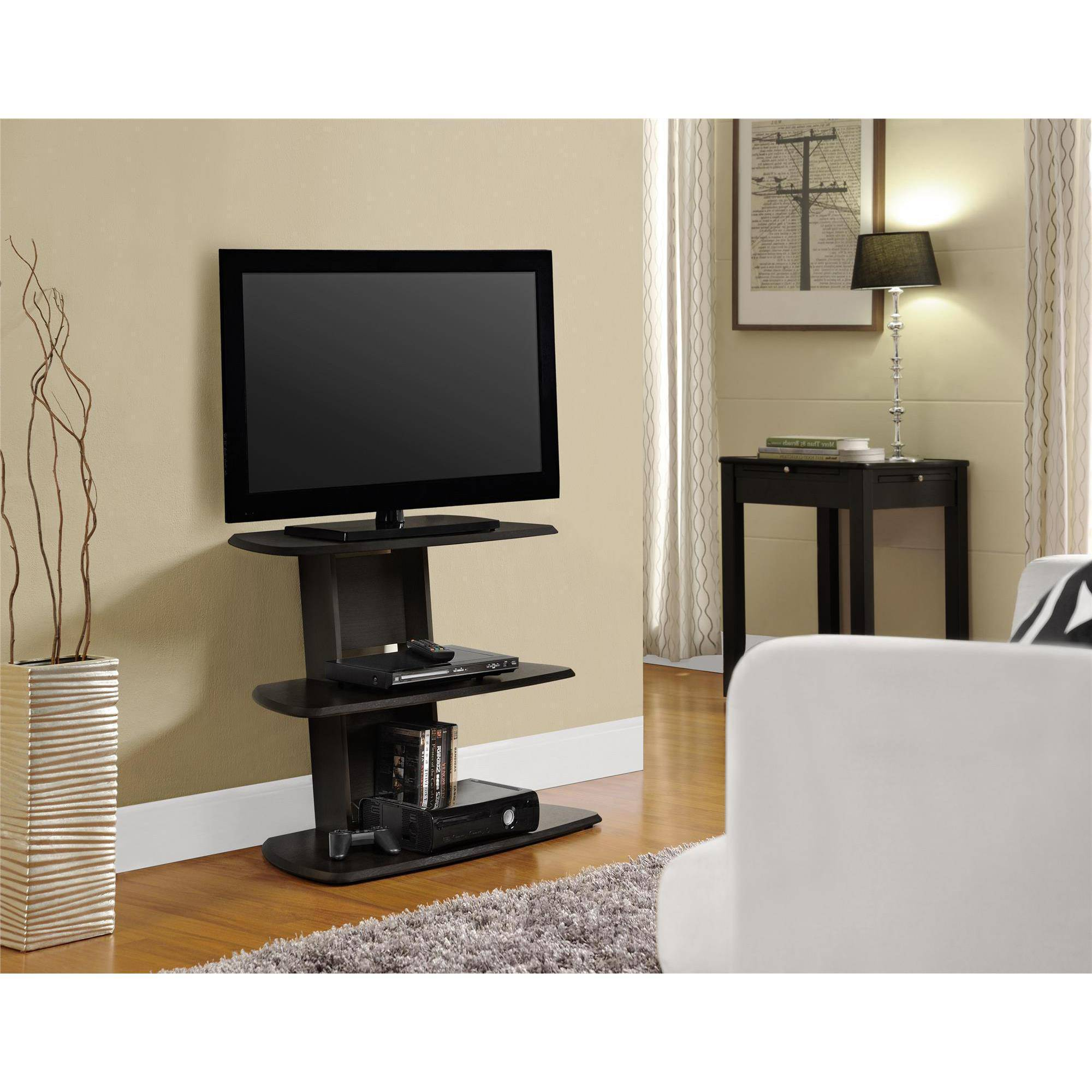 Altra Galaxy II Espresso TV Stand for TVs up to 32""