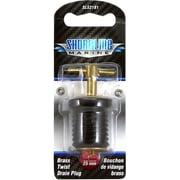 Shoreline Marine Twist Type Drain Plug, Aluminum 1 in