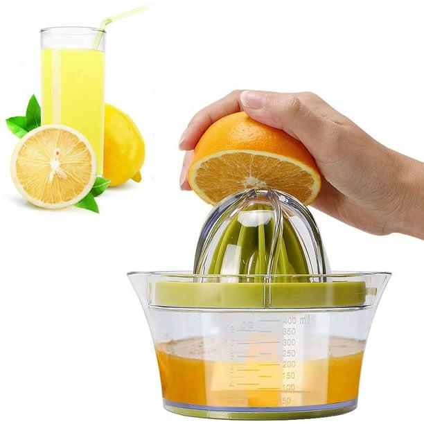 Blue UPKOCH 2 Pcs Citrus Lemon Orange Juicer Manual Hand Squeezer ...