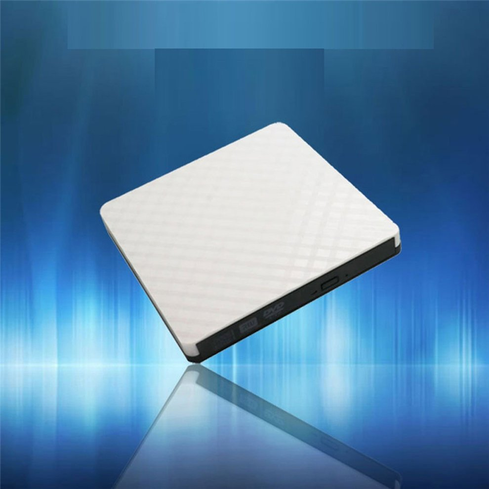 White Optical Drive Maikou Ed09 Usb 3.0 Cd Burner Recorder Universal Notebook External Drive