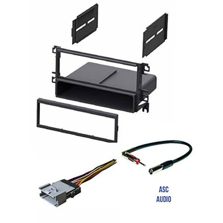 asc car stereo radio install dash kit wire harness and. Black Bedroom Furniture Sets. Home Design Ideas