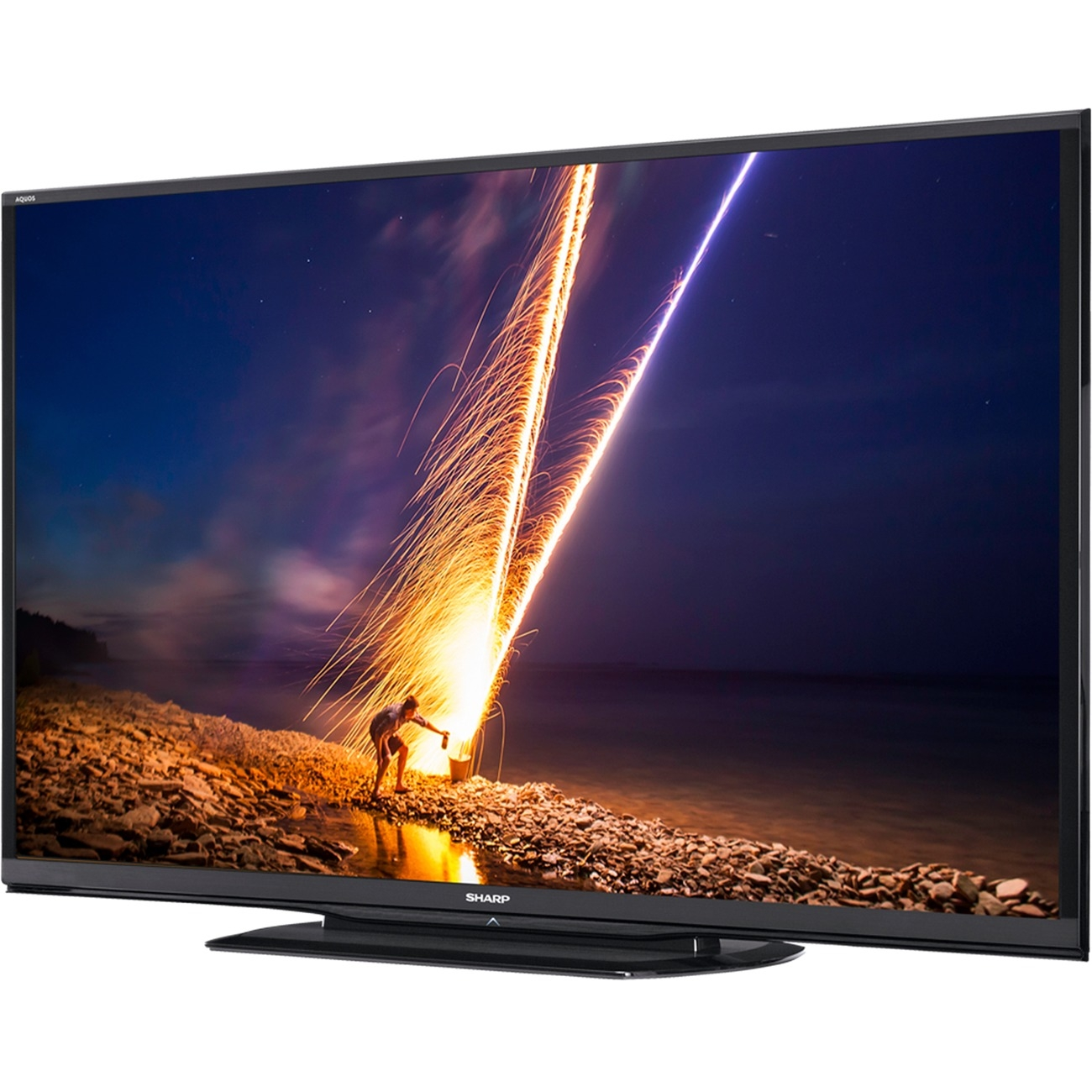 "Sharp AQUOS LE657 LC-90LE657U 90"" 3D 1080p LED-LCD TV - 16:9 - HDTV 1080p - 120 Hz - ATSC - 1920 x 1080 - Surround Sou"