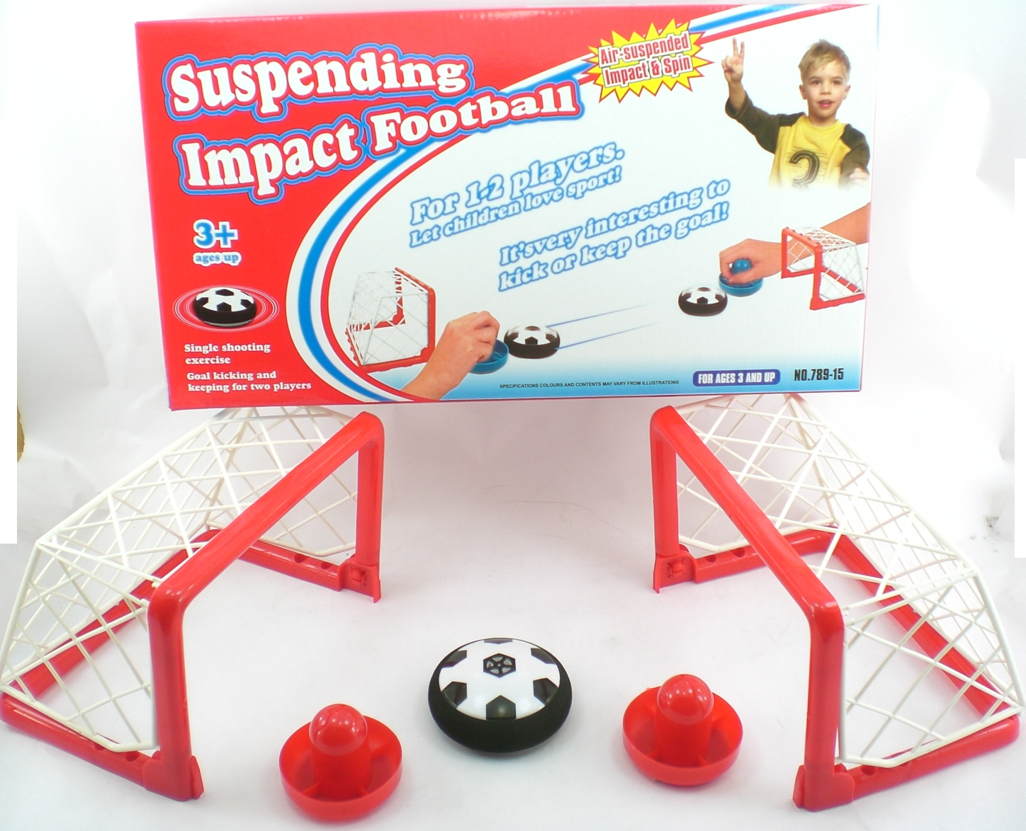 Hand Soccer Float On Air Puck ball Game by DENTT