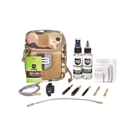 Breakthough Clean Technologies QWIC-MIL Pull Through Cleaning Kit (223cal / 30cal / 9mm) -