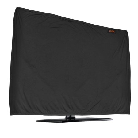 - Lightweight Flat Screen TV Cover – Full Body Stretchable Lycra Protection Sleeve - Fits certain sized LED, OLED, LCD, and Plasma Televisions