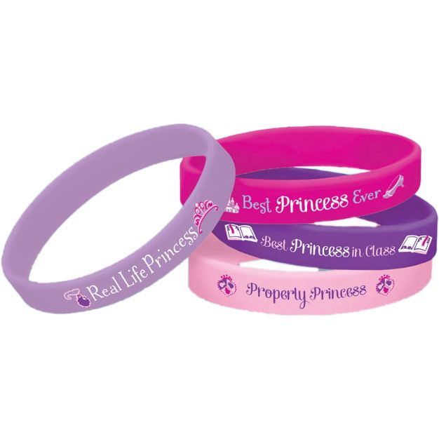 Sofia The First Rubber Bracelets Favors - Party Supplies