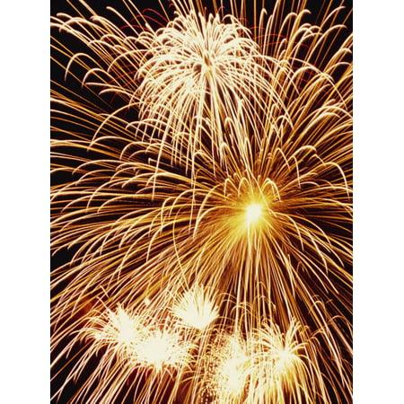 Fireworks Display Print Wall Art By Steve