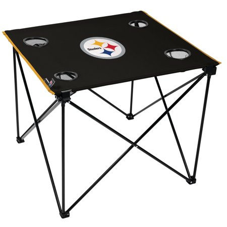 Nfl Tailgate Table - NFL Pittsburgh Steelers Deluxe Table