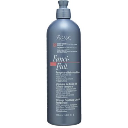 Fanci-Full Temporary Color Rinse 19 Sweet Creme, 15.2 -