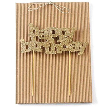 Mud Pie 4985037 Happy Birthday Candle Holder