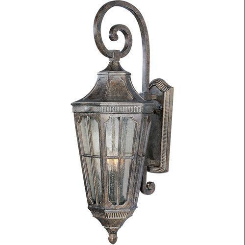 Maxim Lighting 40154CDSE Beacon Hill VX 30. 5'' H 3-Light Outdoor Wall Lantern - Sienna