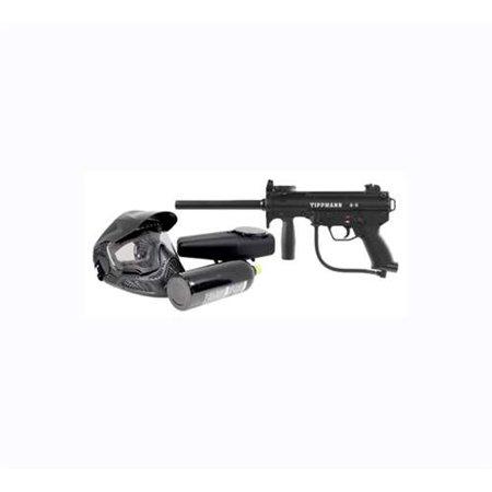 Tippmann A5 Basic Tactical Paintball Gun Marker Power Pack Kit