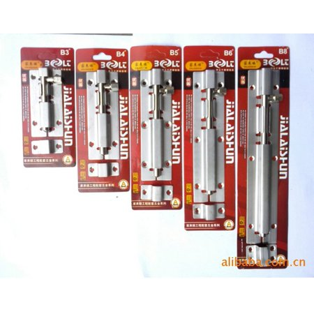 Stainless Steel Door Latch Barrel Long Hose Bolt Hasp Stapler Gate Lock