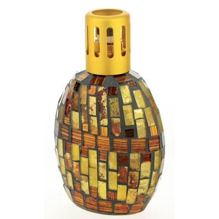 BRONZE - GOLD Mosaic Lampair Fragrance Lamp by Millefiori Milano