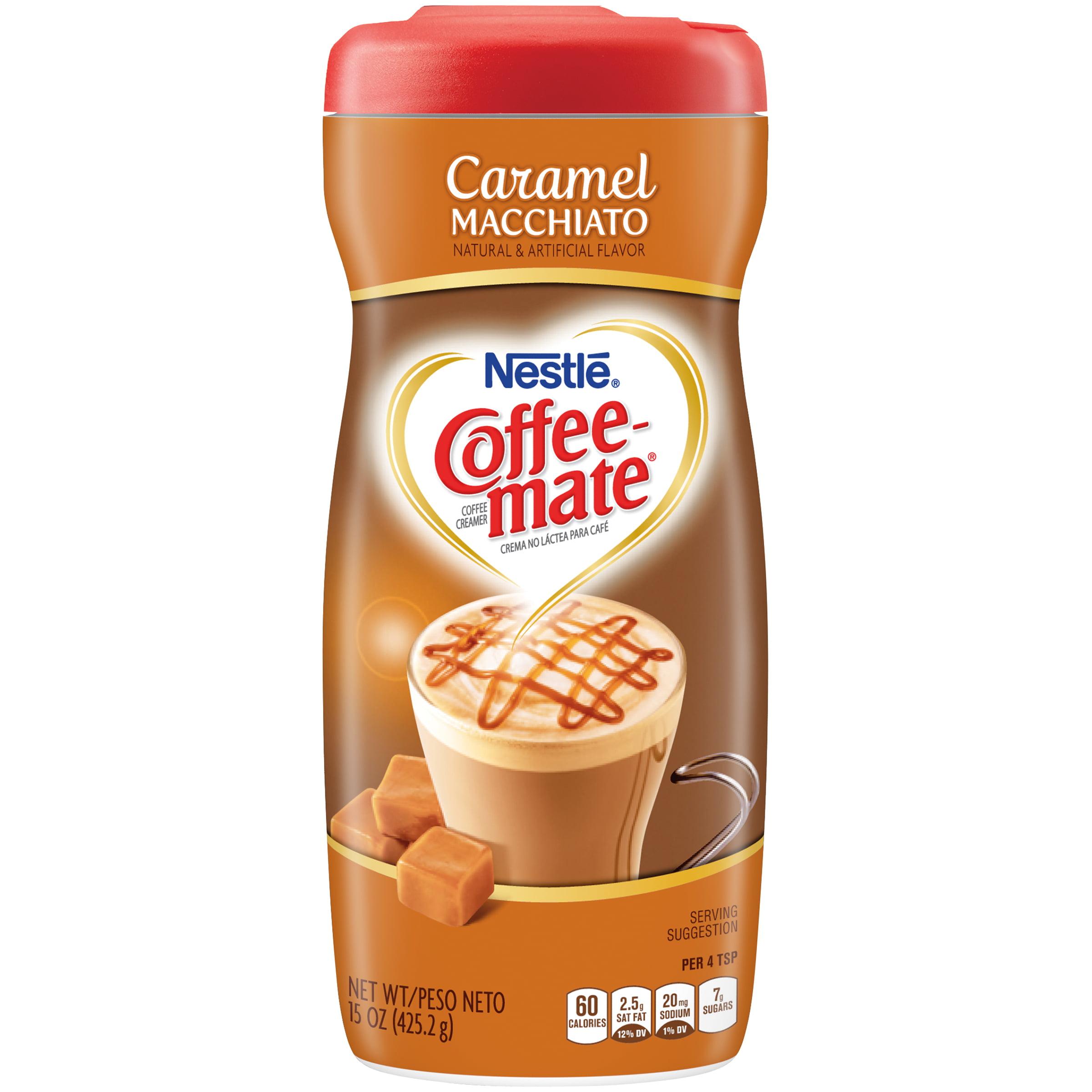 COFFEE-MATE Caramel Macchiato Coffee Creamer 15 oz. Canister