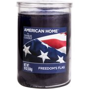 American Home by Yankee Candle Freedom's Flag, 19 oz Large 2-Wick Tumbler