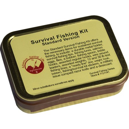 Best Glide ASE Emergency Survival Fishing Kit - Standard (Best Fishing Reel Company)