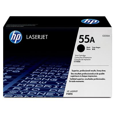 HP 55A Black Original LaserJet Toner Cartridge (Ink For Hp 5520 Printer)