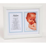 Townsend FN04River Personalized First Name Baby Boy & Meaning Print - Framed, Name - River