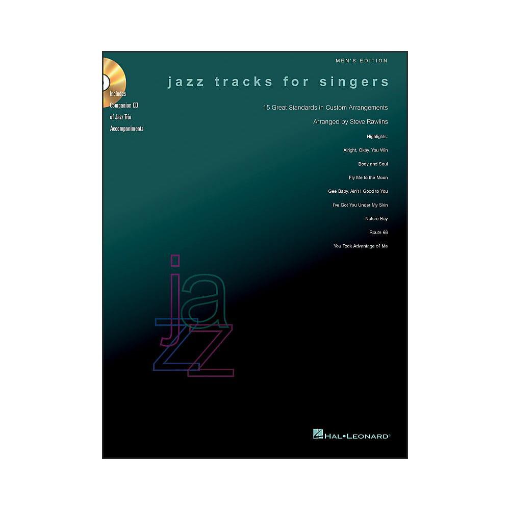 Hal Leonard Jazz Tracks for Singers - Men's Edition Book/CD