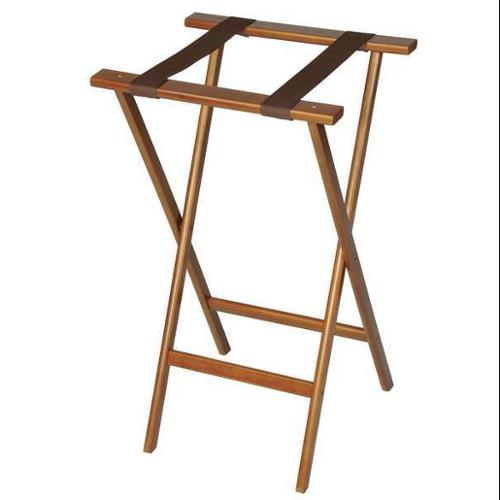 Wood Tray Stand, Walnut ,Csl Foodservice And Hospitality, 1170-1