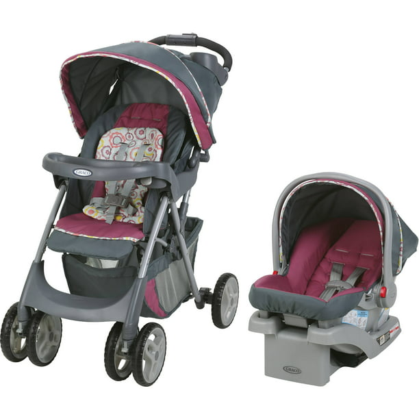 Graco Comfy Cruiser Click Connect Stroller With Snugride