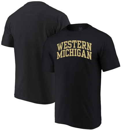 Western Michigan Broncos Tailgate (Western Michigan Broncos Alta Gracia (Fair Trade) Arched Wordmark T-Shirt - Black )
