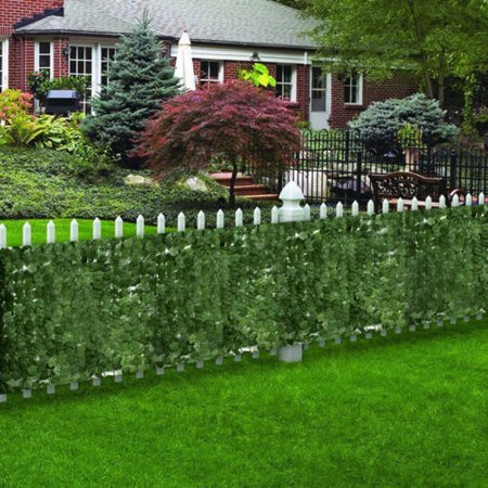 "Zeny Faux Ivy Leaf Decorative Privacy Fence Screen 39"" x 94"" Artificial Hedge Fencing"