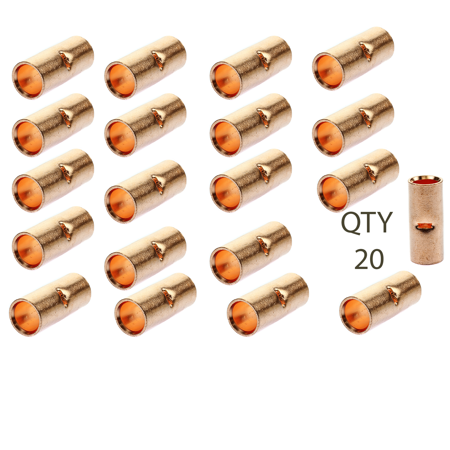 1/0 AWG Gauge Wire Copper Butt Connector AWG Crimp Terminal
