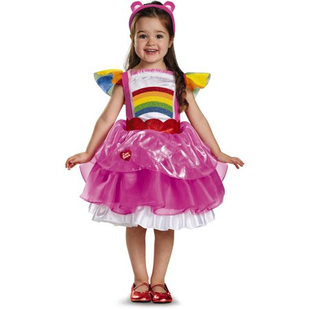 Girls Cheer Bear Care Bears Deluxe Tutu Toddlers Costume Dress