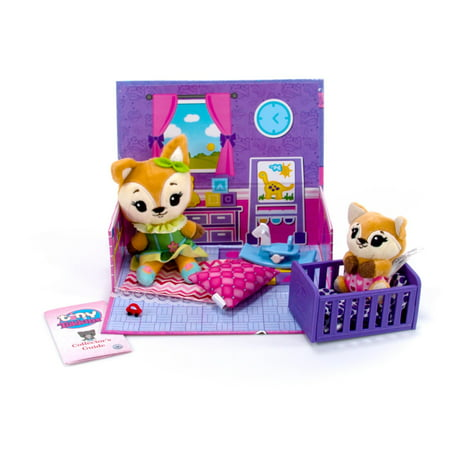 Tiny Tukkins Playset Assortment with Plush Stuffed Character, Fox