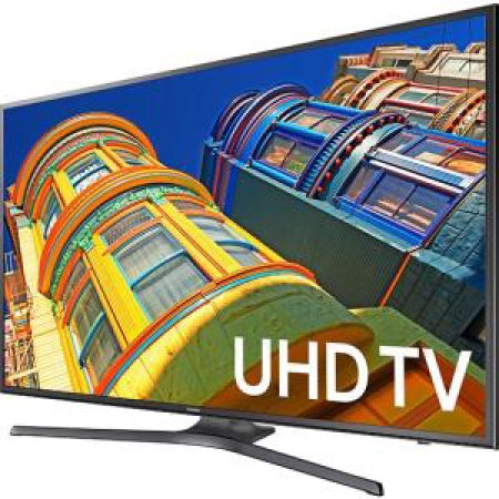 "SAMSUNG 50"" 6300 Series - 4K Ultra HD Smart LED TV - 2160p, 120MR (Model#: UN50KU6300)"
