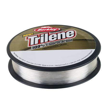 Berkley Trilene 100% Fluorocarbon Professional Grade Line Spool 110 Yards, 0.011