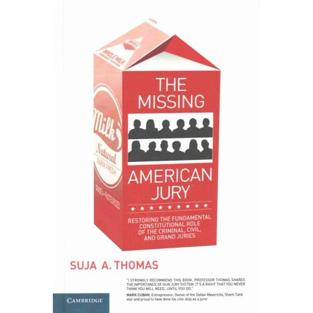 Missing American Jury, Suja A. Thomas Hardcover - image 1 of 1